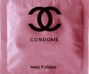 classy, pink, and condoms image