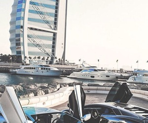 cars, Dubai, and porsche image