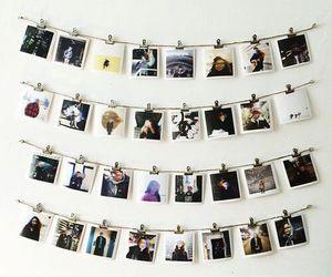 photo, polaroid, and memories image