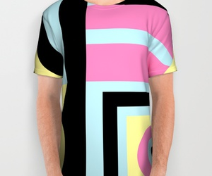 abstract, society6, and all over shirt image