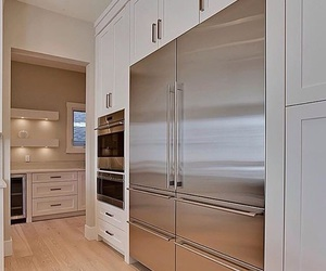 fridge, home decor, and interior image