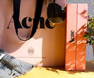 acne, fashion, and shopping image
