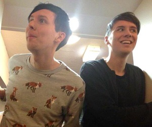 phan, danisnotonfire, and amazingphil image