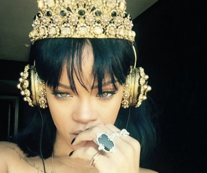 rihanna, Queen, and anti image