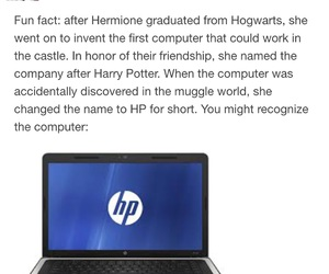 computers, funny, and harry potter image
