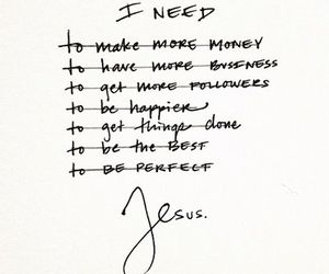 jesus, god, and quote image