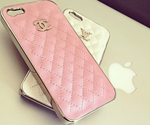 chanel, iphone, and pink image