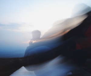 blurred, camp, and gradiant image