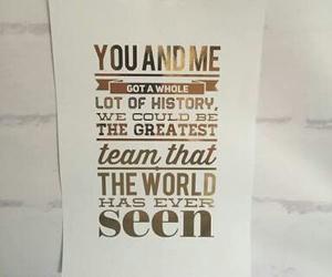 Lyrics, one direction, and history image