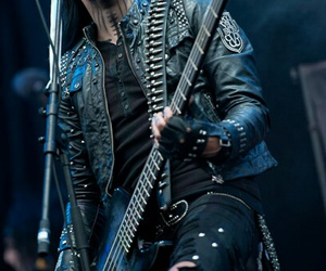 bass, boy, and black veil brides image