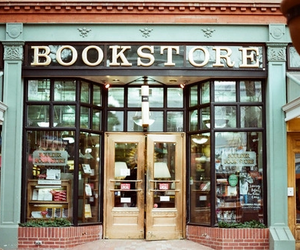 book, book store, and read image