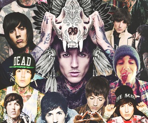 bmth, metal, and rock image