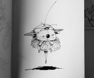 doodle, micron, and drawing image