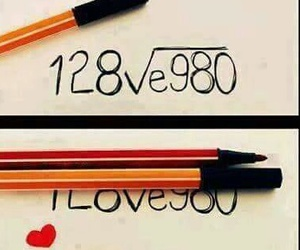 dessin, drawing, and I Love You image