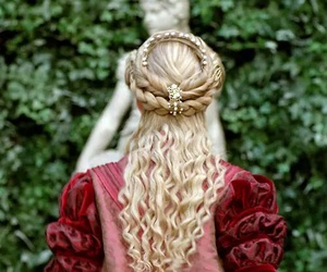 16th century, 17th century, and hair image