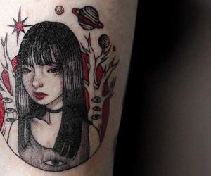 aesthetic, arm tattoo, and boho image