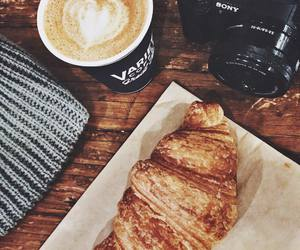 camera, coffee, and food image