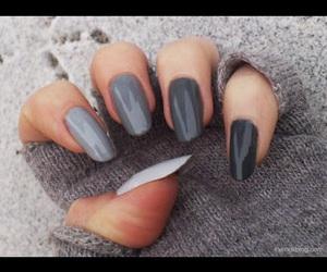 hands, nail art, and nail polish image