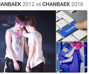couple, exo, and moments image