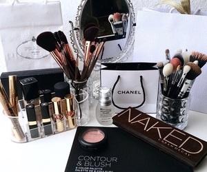makeup, chanel, and naked image