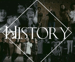 history, one direction, and onedirection image