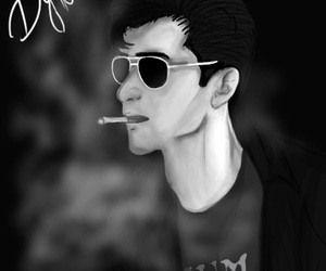 alex turner, white, and am image