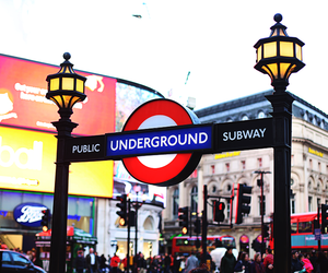 city, london, and piccadilly circus image