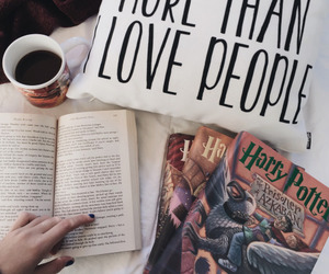 beautiful things, books, and harry potter image