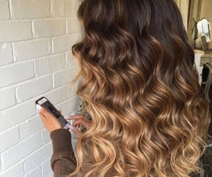 hair, beauty, and ombre image