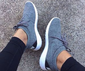nike, shoes, and grey image
