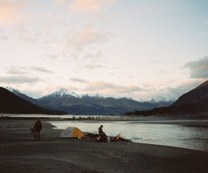 camping, landscape, and adventure image