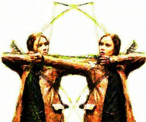 book, archery, and movie image