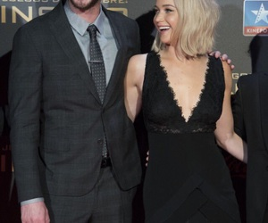 happy, Jennifer Lawrence, and madrid image