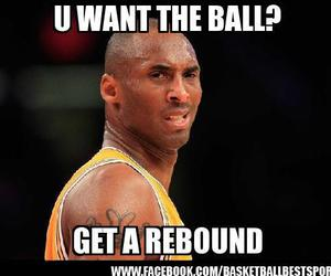 Basketball, lakers, and kobe image