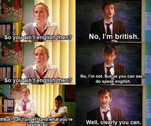 david tennant, funny, and doctor who image