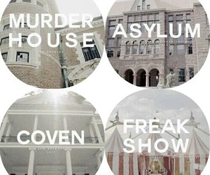 american horror story, ahs, and asylum image