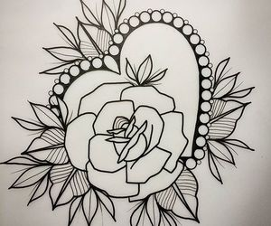 heart and rose image