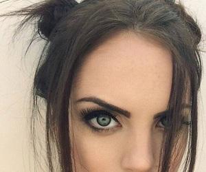 eyes, elizabeth gillies, and hair image