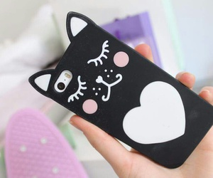 cases, cats, and iphone cases image