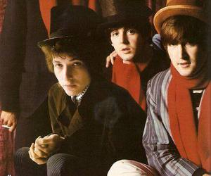 the beatles, beatles, and bob dylan image