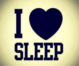 sleep and love image
