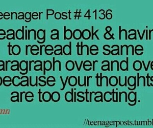 book, teenager post, and true image