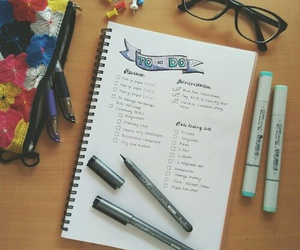 school, study, and time image