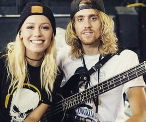 tonight alive, jenna mcdougall, and cam adler image