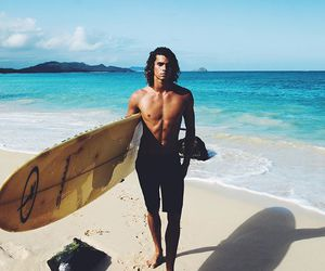 summer, jay alvarrez, and beach image