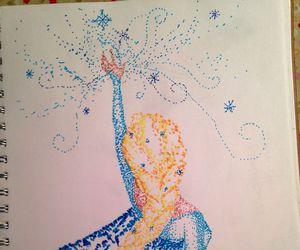 drawing and elsa image