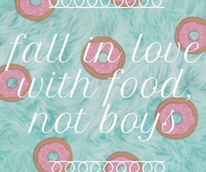 quote, boys, and food image