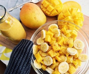 yellow, fruit, and food image