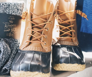 classic, bean boots, and cute image