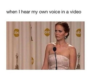 funny, voice, and true image